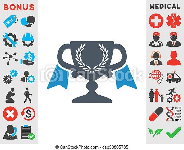 icono de la copa de premio - csp30805785