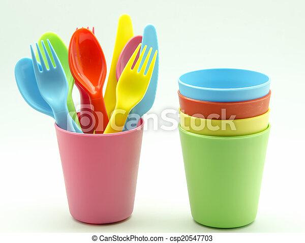 Vasos de plástico - csp20547703
