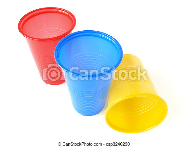 Vasos de plástico - csp3240230