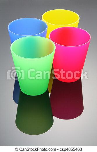 Tazas plásticas - csp4855463