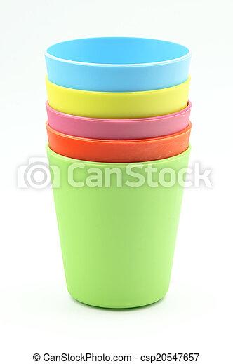 Vasos de plástico - csp20547657