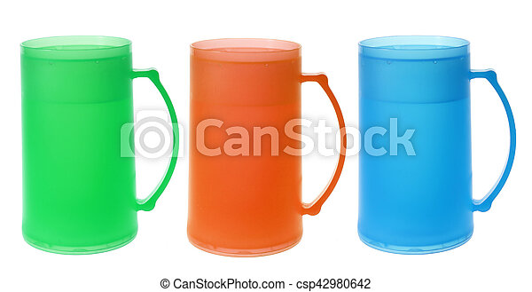Vasos de plástico - csp42980642