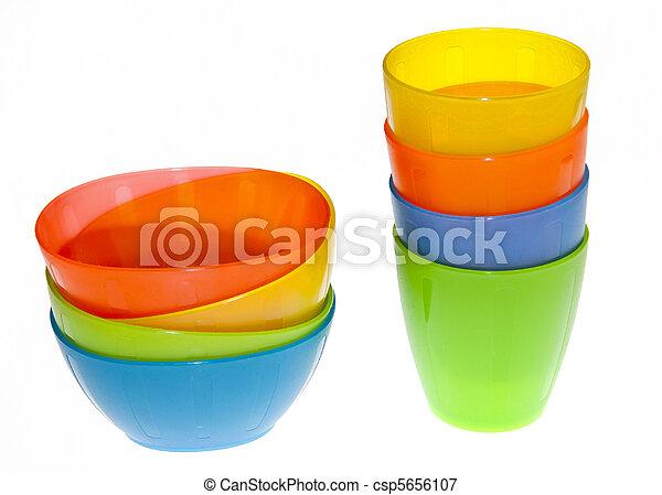 Vasos de plástico - csp5656107