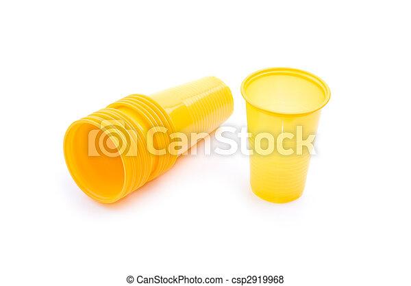 Tazas plásticas - csp2919968