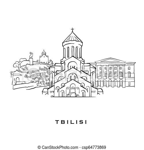 Tbilisi Georgia famous architecture