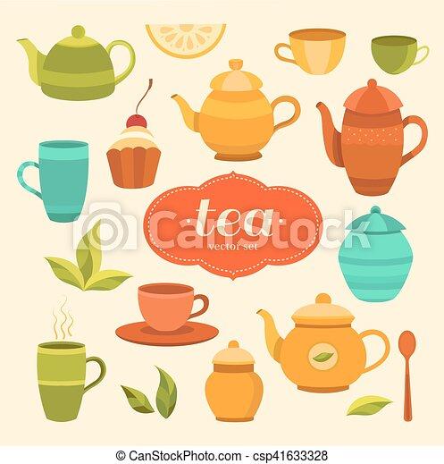 Tea Elements Print