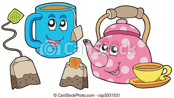 Tea collection - csp3031531