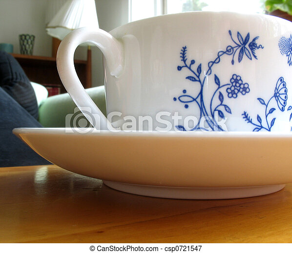 Tea cup 2 - csp0721547