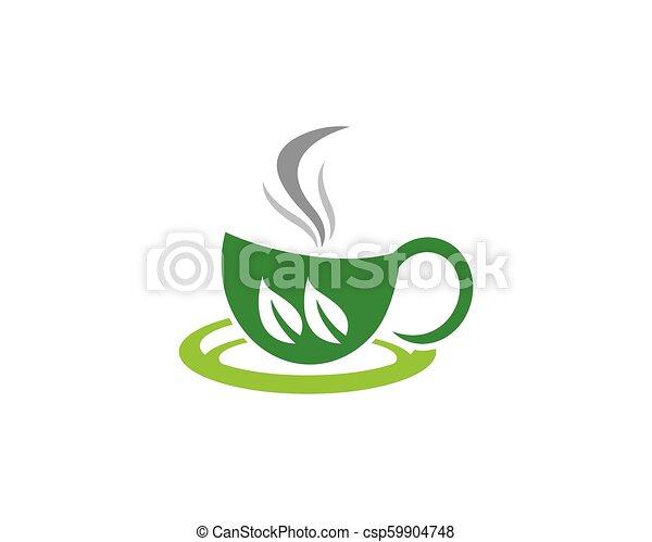 Tea cup logo template vector icon illustration design tea cup logo template vector icon maxwellsz