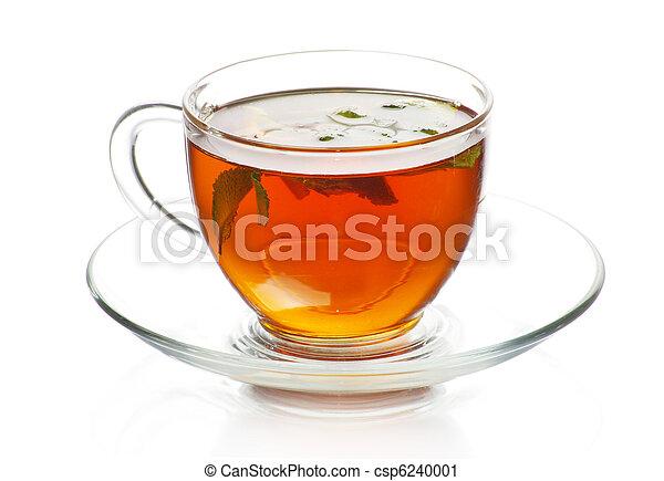 tea in cup - csp6240001
