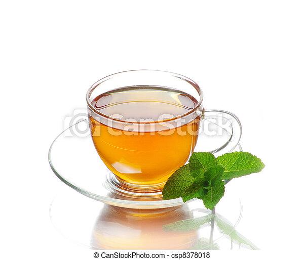 tea in cup - csp8378018