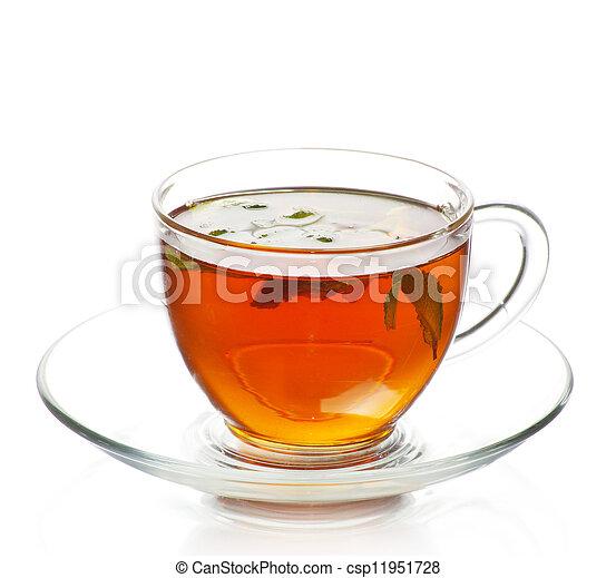 tea in cup - csp11951728