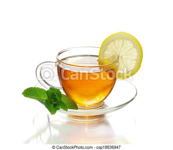 tea in cup - csp18836947