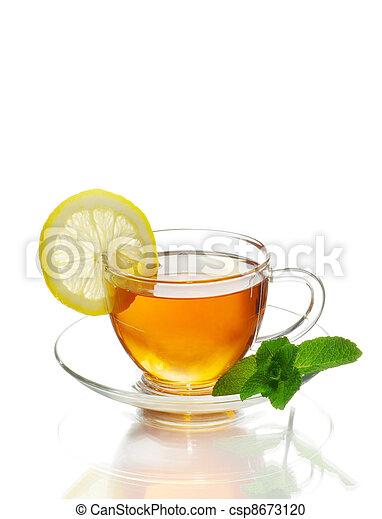 tea in cup - csp8673120