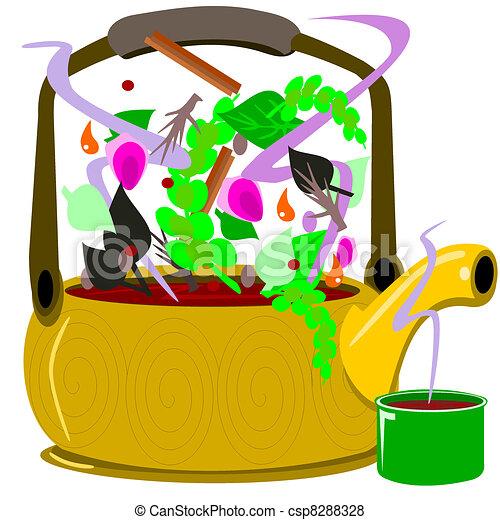 Tea pot - csp8288328