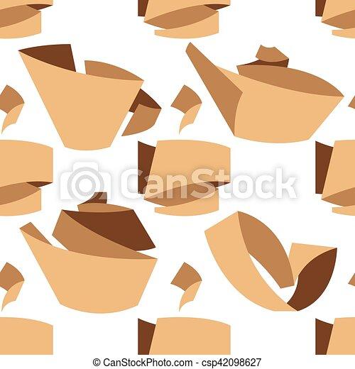 tea seamless pattern - csp42098627