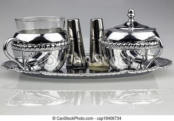 Tea Set - csp18406734