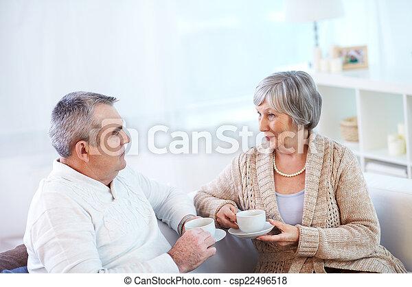 Tea talk - csp22496518