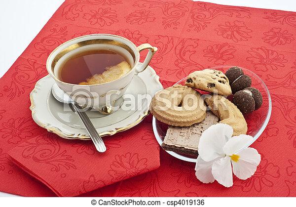 Tea time 5 - csp4019136
