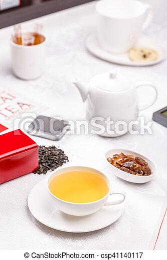 Tea time concept - csp41140117