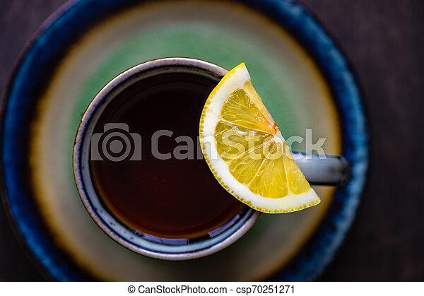 Tea time concept - csp70251271
