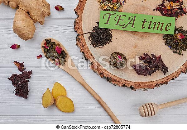 TEA time concept. - csp72805774