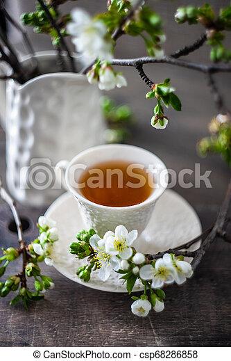 Tea time concept - csp68286858