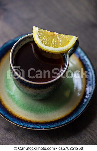 Tea time concept - csp70251250