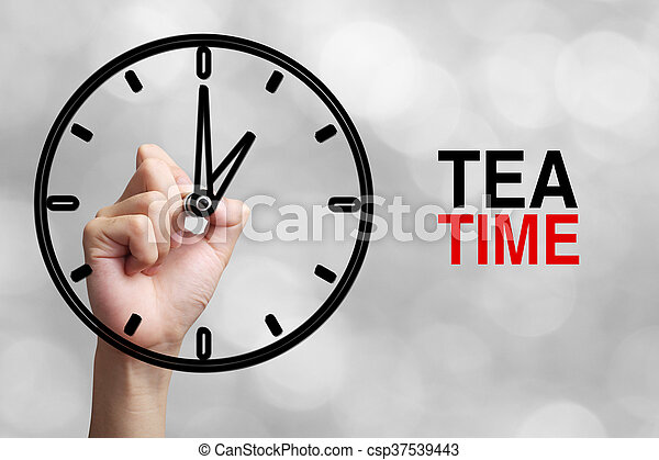 Tea Time Concept - csp37539443
