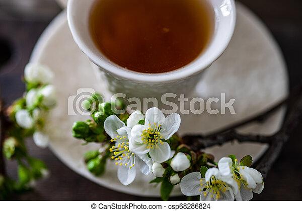 Tea time concept - csp68286824