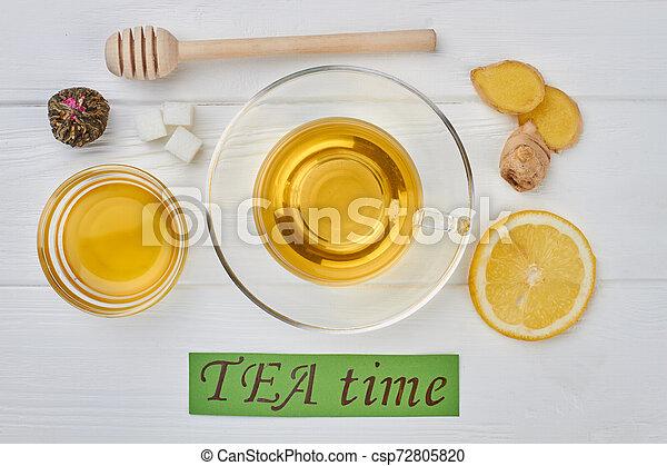 TEA time concept. - csp72805820