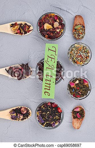 TEA time concept. - csp69058697