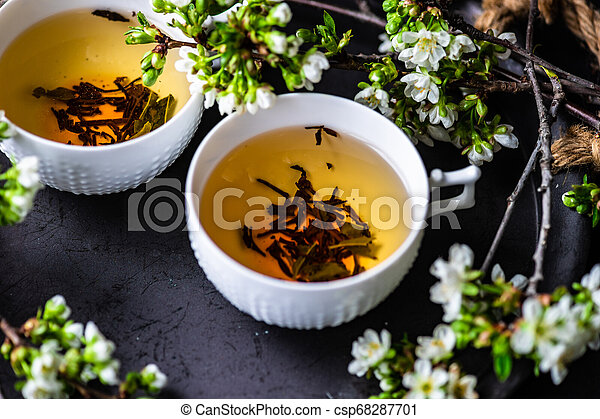 Tea time concept - csp68287701