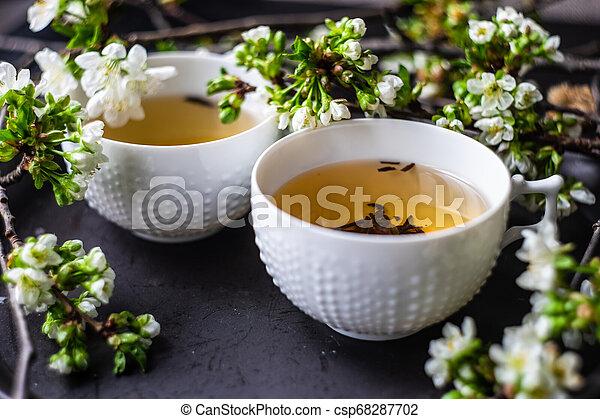 Tea time concept - csp68287702