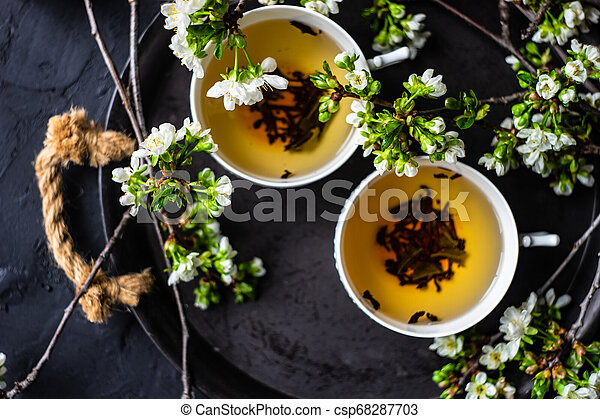 Tea time concept - csp68287703