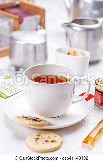Tea time concept - csp41140132