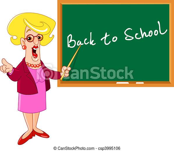 Teacher - csp3995106