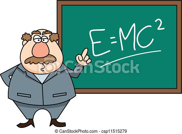 teacher in front of class - csp11515279