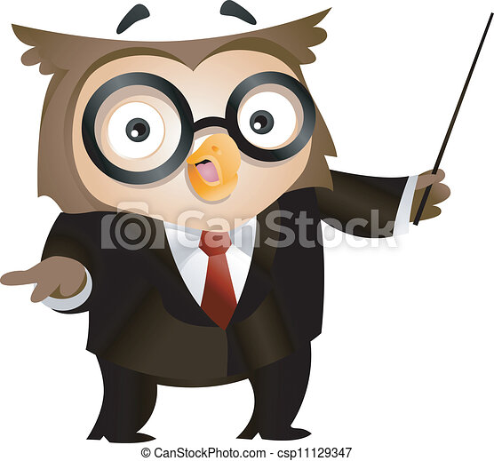 Teacher Owl - csp11129347