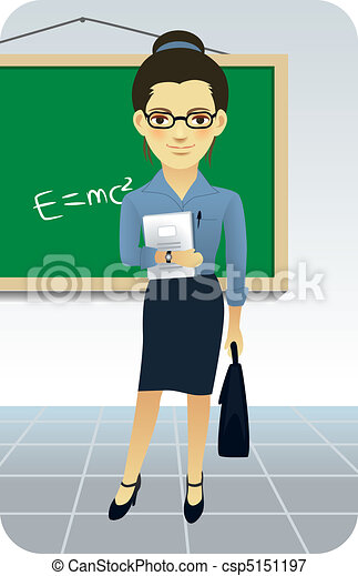 Teacher Teaching - csp5151197