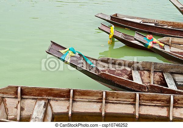 Teak Wood Boat   Csp10746252