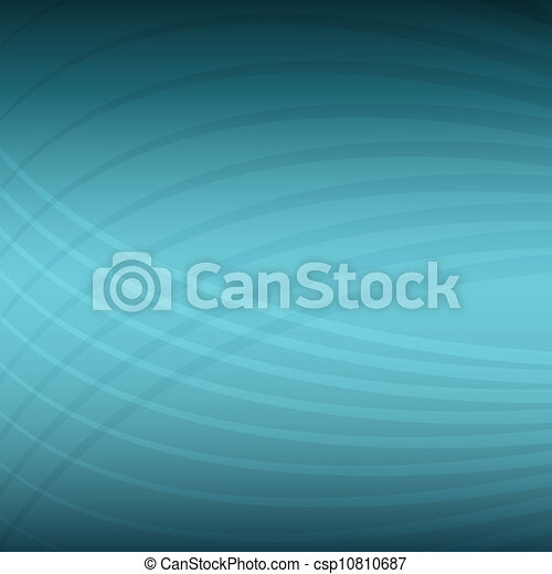 Teal Energy Wave Pattern Background - csp10810687