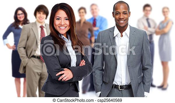 team., ビジネス - csp25640569