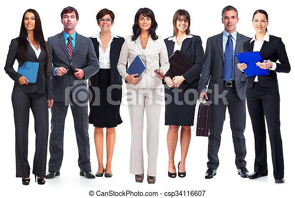 team., ビジネス 人々 - csp34116607