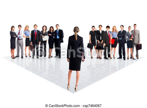 team., ビジネス 人々 - csp7464067