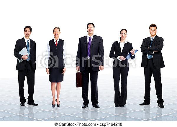 team., ビジネス 人々 - csp7464248