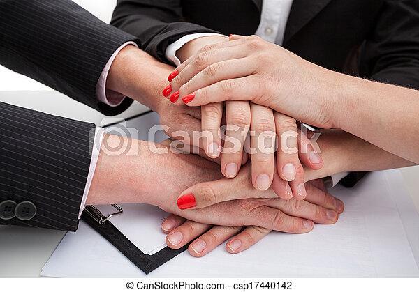 Team being united - csp17440142