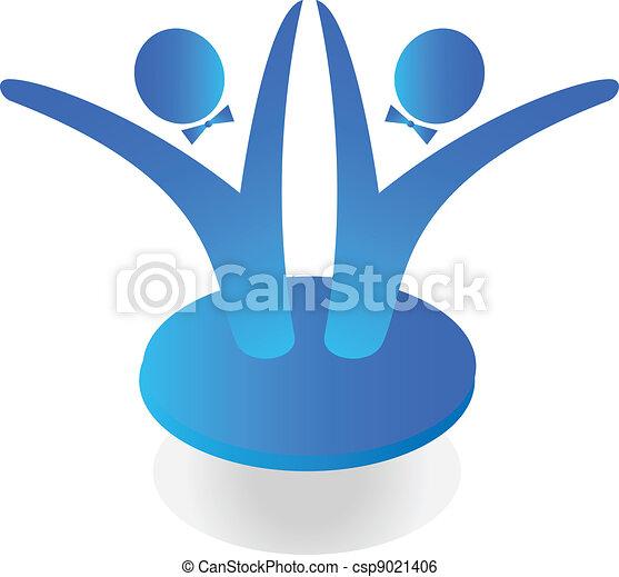 Team business logo - csp9021406