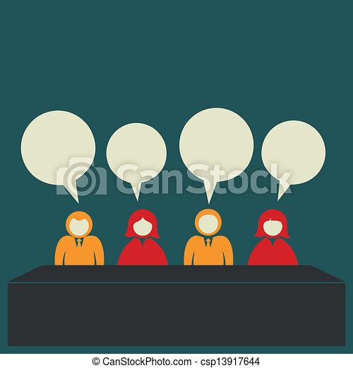 team discussion - csp13917644