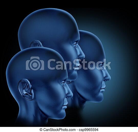 Team Leadership Concept - csp9965594